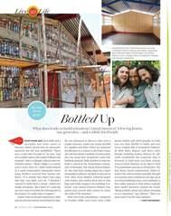 Oprah Magazine Article Philanthropy Foundation Hug It Forward Bottle Schools