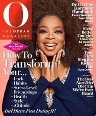 Oprah Magazine Cover Article Philanthropy Foundation Hug It Forward Bottle Schools