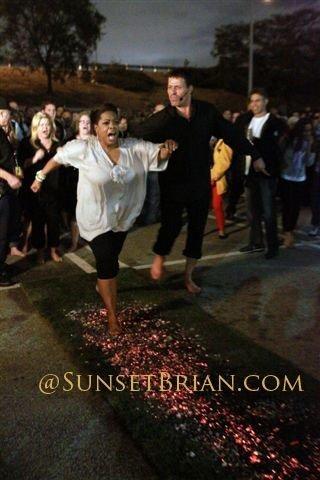 Tony Robbins Oprah Winfrey Firewalk SunsetBrian